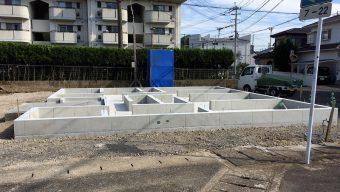 大野町・I様邸 基礎工事完了…のサムネイル