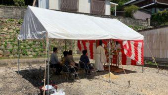 Ha様邸 地鎮祭を行いま…のサムネイル
